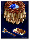 Cartoon: MATCHES !.. (small) by ismail dogan tagged nuclear