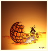 Cartoon: PLANETARY  HEAT (small) by ismail dogan tagged planetary,heat