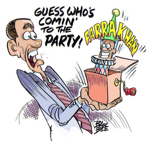 Cartoon: barak (medium) by barbeefish tagged guess,who,is,coming,