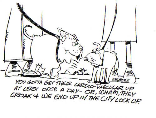 Cartoon: pet (medium) by barbeefish tagged what,dogs,say,