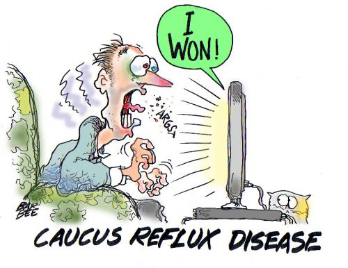 Cartoon: reflux (medium) by barbeefish tagged gag,