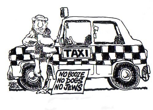 Cartoon: taxi (medium) by barbeefish tagged rules,