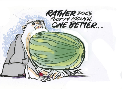 Cartoon: the WATERMELLON (medium) by barbeefish tagged exposed