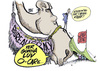 Cartoon: big BIG NOSE (small) by barbeefish tagged obamacare