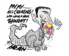 Cartoon: IRAN (small) by barbeefish tagged nuclear