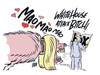 Cartoon: love for MAO (small) by barbeefish tagged dunn