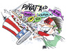 Cartoon: party time (small) by barbeefish tagged raza
