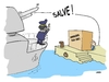 Cartoon: GUN SALUTE (small) by uber tagged gheddafi,lybia,italy