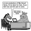 Cartoon: War Horse (small) by cartoonsbyspud tagged cartoon,spud,hr,recruitment,office,life,outsourced,marketing,it,finance,business,paul,taylor