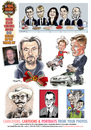 Cartoon: Caricatures Cartoons from Photos (small) by ian david marsden tagged caricature,cartoon,custom,personal,drawing,professional,photo,photograph,gift,idea,ian,marsden,illustrator,cartoonist