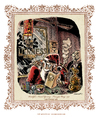 Cartoon: Santa Claus Rudolph Rebellion (small) by ian david marsden tagged santa,claus,rudolph,golden,triangle,mekong,opium,heavy,weapons,hallucinations,antique,copper,engraving,vintage