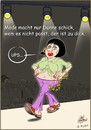 Cartoon: Mode macht nur Duenne schick.... (small) by Miguelez tagged mode,dick,catwalk