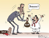 Cartoon: Obama (small) by awantha tagged obama