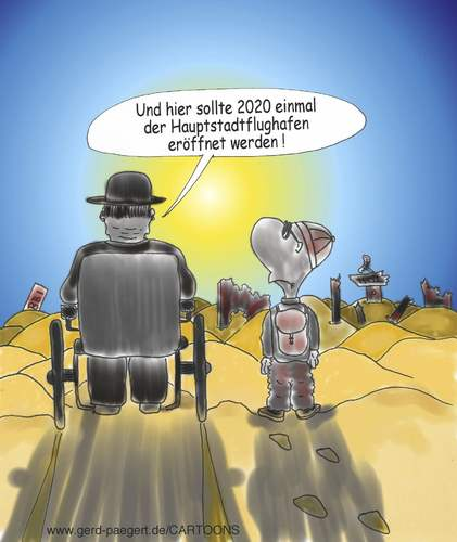 Cartoon: Es war einmal (medium) by boogieplayer tagged flughafen