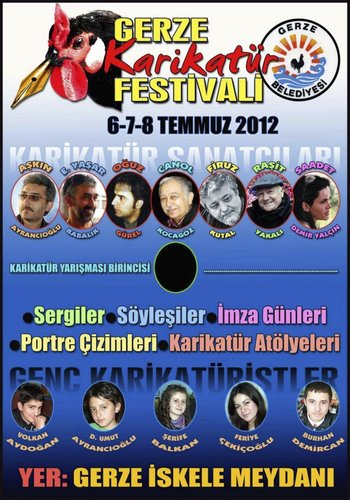 Cartoon: Gerze Karikatur Festivali (medium) by saadet demir yalcin tagged festival,saadet