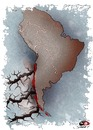 Cartoon: Chilean earthquake... (small) by saadet demir yalcin tagged earthquake,saadet,sdy,syalcin,turkey,chile,world