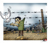 Cartoon: despair (small) by saadet demir yalcin tagged syalcin