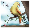 Cartoon: Dont go... (small) by saadet demir yalcin tagged saadet,syalcin,sdy,turkey,nature,humor,ecology