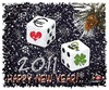 Cartoon: HAPPY NEW YEAR.. (small) by saadet demir yalcin tagged saadet,syalcin,sdy,2011,newyear