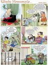 Cartoon: humor magazine my page-2 (small) by saadet demir yalcin tagged syalcin,sdy,saadet,turkey