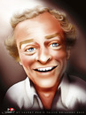 Cartoon: Michael Caine (small) by saadet demir yalcin tagged saadet,sdy,syalcin,turkey,portrait,michaelcaine