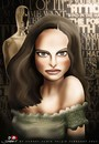 Cartoon: Natalie Portman (small) by saadet demir yalcin tagged saadet,sdy,syalcin,turkey,cartoon,portrait,natalieportman,oscar,cinema