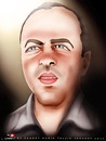 Cartoon: Palmas-2 (small) by saadet demir yalcin tagged saadet,sdy,syalcin,turkey,argentina,portrait