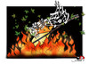 Cartoon: religious terrorism-2 (small) by saadet demir yalcin tagged saadet,sdy