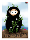 Cartoon: spring... (small) by saadet demir yalcin tagged syalcin