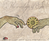 Cartoon: The creation of  Eva (small) by saadet demir yalcin tagged saadet sdy eva horoskop hands