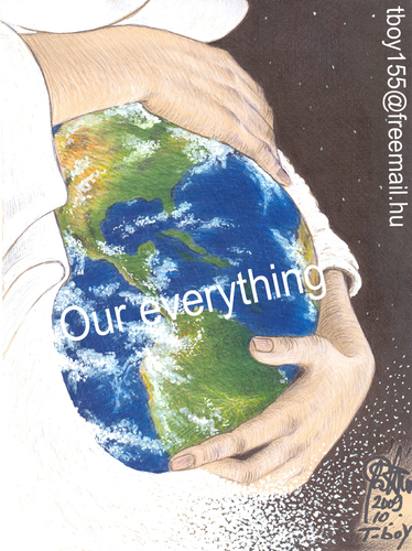 Cartoon: OUR EVERYTHING (medium) by T-BOY tagged our,everything