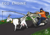 Cartoon: ECO  ENGINE (small) by T-BOY tagged eco,engine