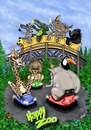 Cartoon: HAPPY  ZOO (small) by T-BOY tagged happy,zoo