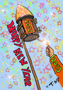 Cartoon: HAPPY NEW YEAR (small) by T-BOY tagged happy,new,year