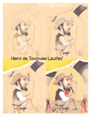 Cartoon: HENRI DE TOULOUSE LAUTREC (small) by T-BOY tagged henri,de,toulouse,lautrec