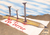 Cartoon: NO TERROR (small) by T-BOY tagged no,terror