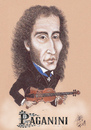 Cartoon: PAGANINI (small) by T-BOY tagged paganini