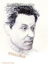 Cartoon: STALLONE (small) by T-BOY tagged sta