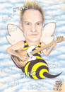 Cartoon: STING (small) by T-BOY tagged sting