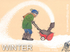 Cartoon: WINTER (small) by T-BOY tagged winter