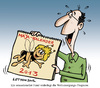 Cartoon: Entwarnung! (small) by Nottel tagged weltuntergang,katastrophen,mayakalender