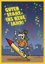 Cartoon: Happy New Year! (small) by Nottel tagged jahreswechsel,neujahr,2014,silvester