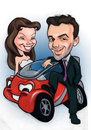 Cartoon: Wedding and The Smart (small) by guidosalimbeni tagged smart,cars,car,wedding,funny