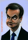 Cartoon: Zapatero Caricatura (small) by guidosalimbeni tagged zapatero,presidente,spagna,espana,caricaturas,caricature,politic