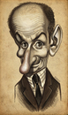 Cartoon: Louis De Funes (small) by K E M O tagged louis,de,funes,by,kemo,caricature,karikatura,cartoon,art,actor,commedian,prikoli,sasacilo