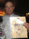 Cartoon: Vinnie Jones (small) by K E M O tagged vinnie,jones,by,kemo,actor