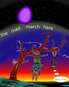 Cartoon: month 3 (small) by wheelman tagged march,hare,eastern,bat,tree,madness