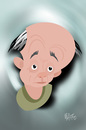 Cartoon: Eugen IONESCO (small) by geomateo tagged ionesco