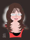 Cartoon: Lidia Luca (small) by geomateo tagged lidia,luca