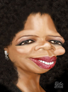 Cartoon: Oprah Winfrey (small) by geomateo tagged oprah,winfrey